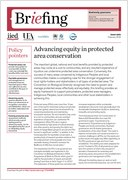 Advancing equity in protected area conservation
