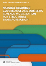 African governance report V: natural resource governance and domestic revenue mobilization for structural transformation