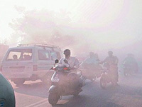 Air quality deteriorates, 202 point rise in pollution