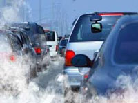 134 vehicles booked for pollution