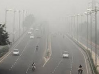 Air quality improves to 'moderate' level