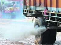 Plea against overloaded trucks causing pollution
