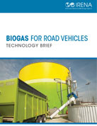 Biogas for road vehicles