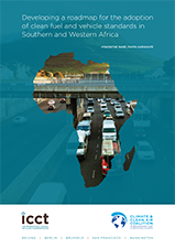 Developing a roadmap for the adoption of clean fuel and vehicle standards in Southern and Western Africa
