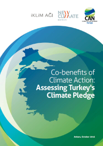 Co-benefits of climate action: assessing Turkey's climate pledge