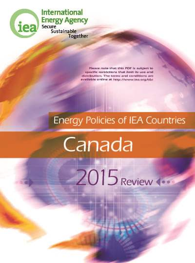Energy policies of IEA countries: Canada 2015 review