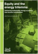 Equity and the energy trilemma: delivering sustainable energy access in low income communities