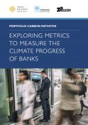 Exploring metrics to measure the climate progress of banks
