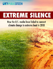 Extreme silence: How the U.S. media have failed to connect climate change to extreme heat in 2018