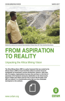 From aspiration to reality: unpacking the Africa Mining Vision