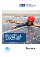 Global trends in renewable energy investment report 2018
