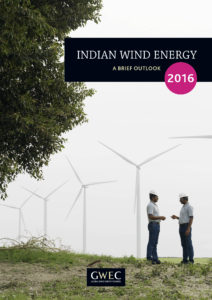 Indian wind energy: a brief outlook 2016