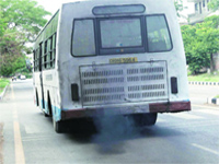 State Transport Authority issues 15 challans daily to vehicles causing pollution