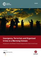 Insurgency, terrorism and organised crime in a warming climate: analysing the links between climate change and non-state armed groups