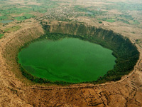 Centre shrinks eco-sensitive zone of Lonar crater lake