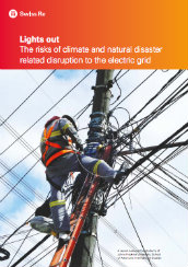 Lights out: the risks of climate and natural disaster related disruption to the electric grid
