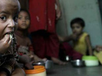 '15% of country's population undernourished'