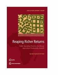 Reaping richer returns: public spending priorities for African agriculture productivity growth
