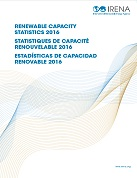 Renewable capacity statistics 2016