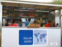 Goa state horticultural corporation gets its first solar-powered kiosk