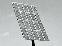 Floodlights at border to run on solar power