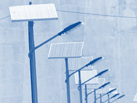 Solar plants to power streetlights
