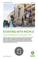 Starting with people: a human economy approach to inclusive growth in Africa