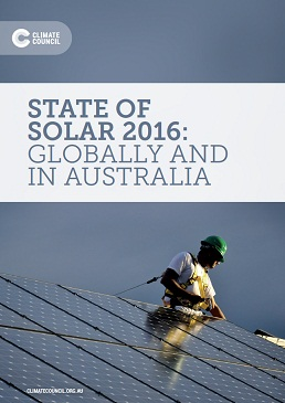 State of solar 2016: globally and in Australia