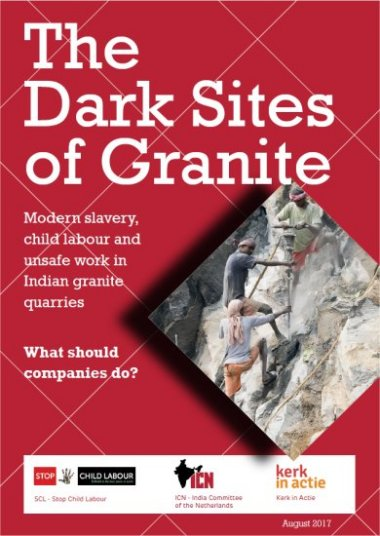 The dark sites of granite: modern slavery, child labour and unsafe work in Indian Granite Quarries