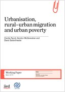 Urbanisation, rural–urban migration and urban poverty