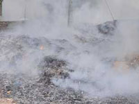 Latest Deonar fire not totally doused