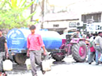 Water shortage hits several areas in nine districts