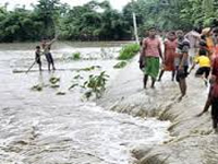 Nearly three lakh affected by Assam flood