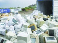 e-waste sale earns colleges over Rs. 7 lakh