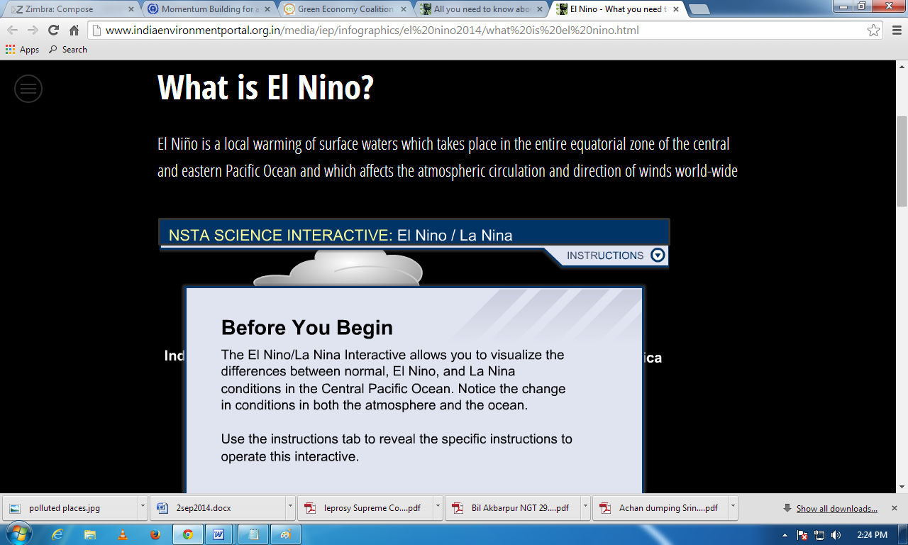 All you need to know about El Nino