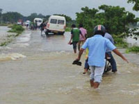 40.92 lakh people hit by floods