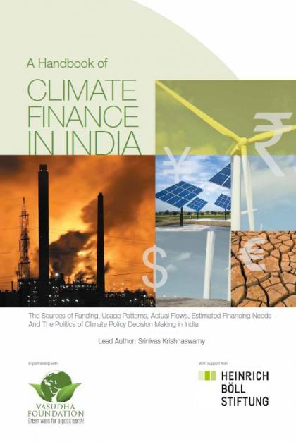 A handbook of climate finance in India