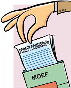 Forest commission report on forest rights bill validates government`s stand