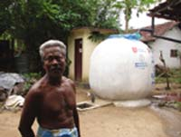 Rainwater harvesting aids tsunami hit Sri Lankan villages