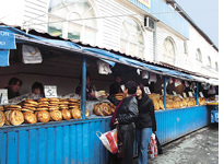 Bread prices spiral in Central Asia
