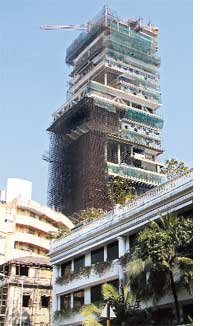 Din over private helipads in Mumbai