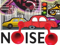 Vehicle challaned for creating noise pollution