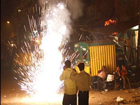 Diwali less noisy but light crackers pose new threat