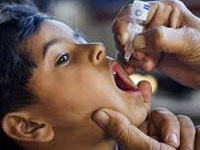 2.68L kids given polio vaccination