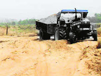 Government starts e-auction of ghats for sand mining in 9 districts