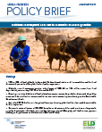 Sustainable Development Goals and the economics of land degradation
