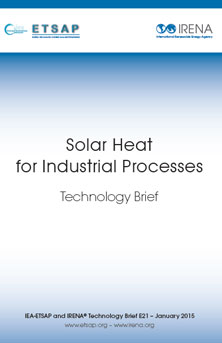 Solar heat for industrial processes