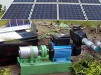 Manufacturers seek scheme for solar pumps