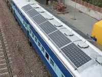 Railways goes solar to power city's commute on local trains