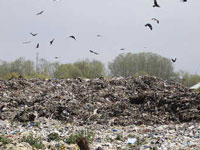 People living near garbage dump in Achan demand 'clean air'
